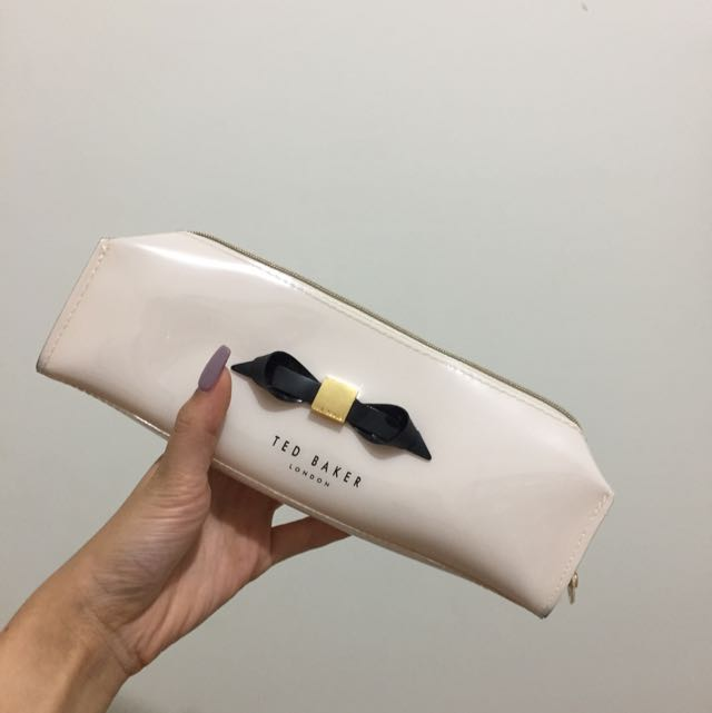 Authentic Ted Baker Pencil Case/Make Up Bag