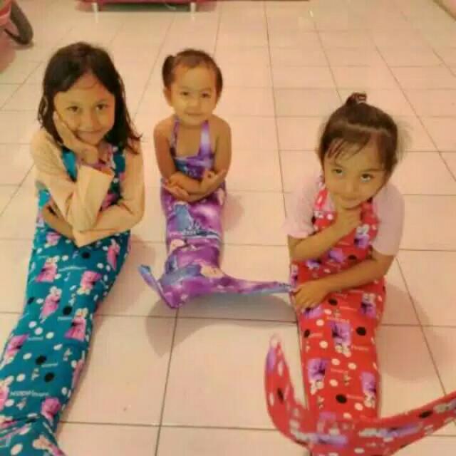 Baju Mermaid Baju Putri Duyung Baju Anak Baju Frozen Baju Kuda Poni Bayi Anak Baju Anak Perempuan Di Carousell
