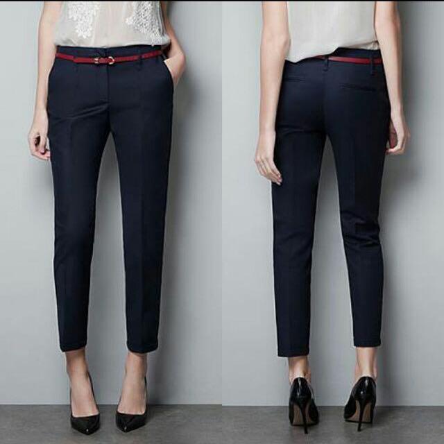 Basic Pants Navy