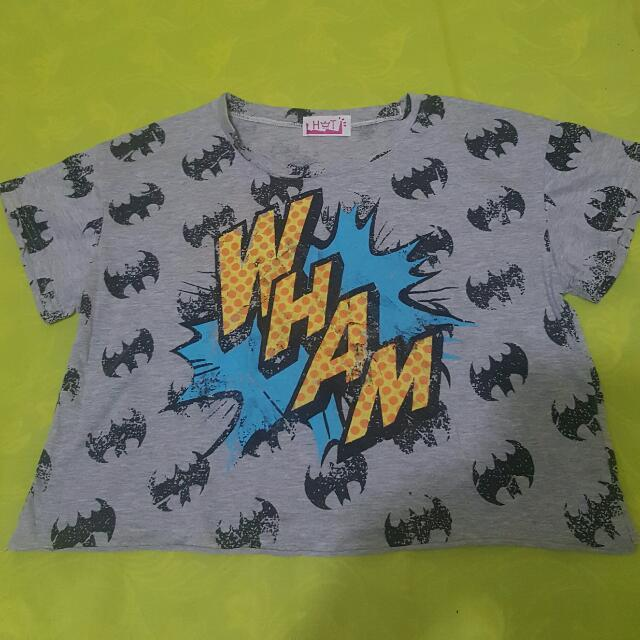 Batman Croptop