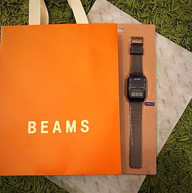 Beams Talking Watch 限量版黑