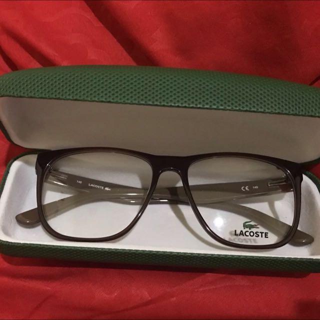 Bingkai Kacamata Lacoste Asli