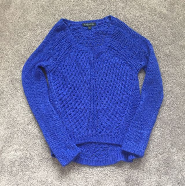 Blue Sweater (small)