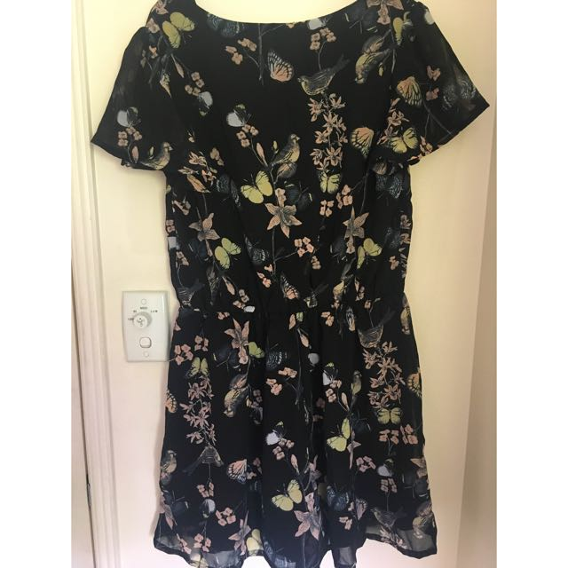 Brand New Size 12 Butterfly Playsuit