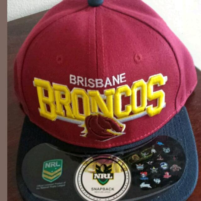 Brisbane Broncos snapback Supporters Cap