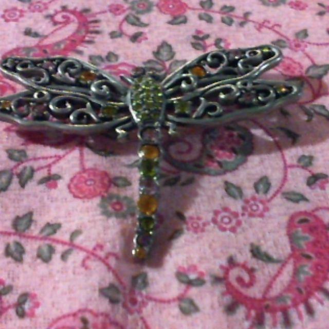 brooch pin- dragonfly design