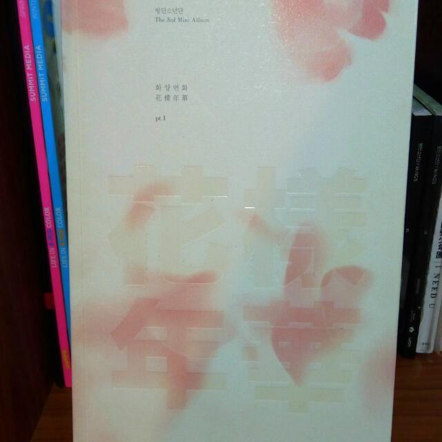 BTS HYYH pt1 pink ver.
