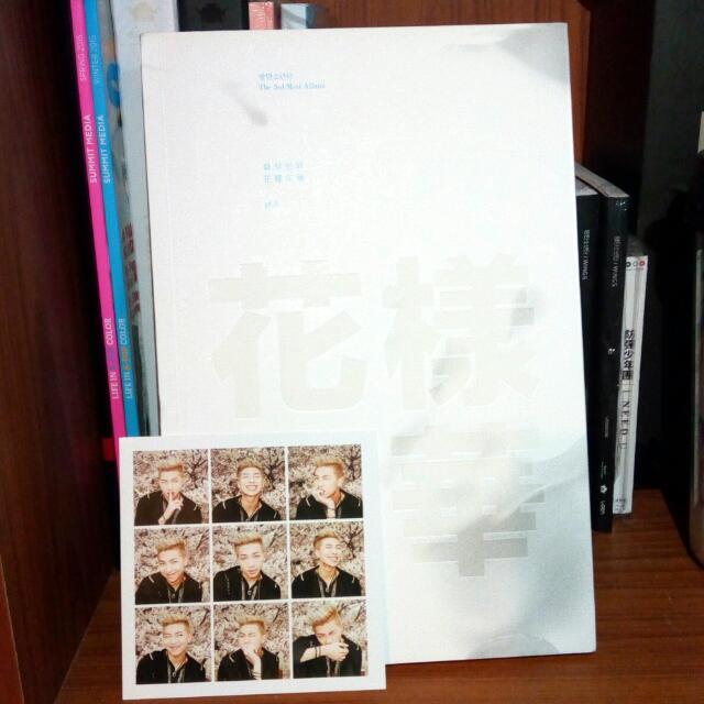 BTS HYYH pt1 white ver. w/ RM pc
