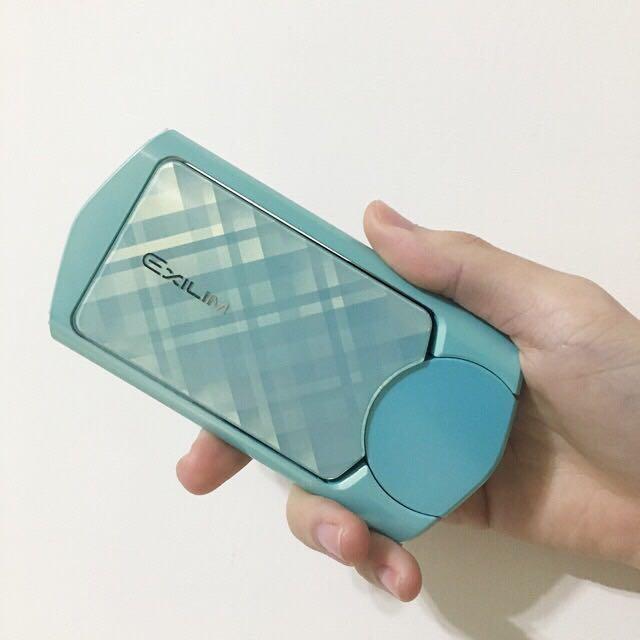 Casio-TR60 Tiffany綠