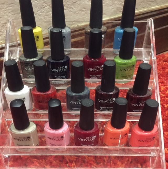 CND Vinylux Nail Polish With Stand