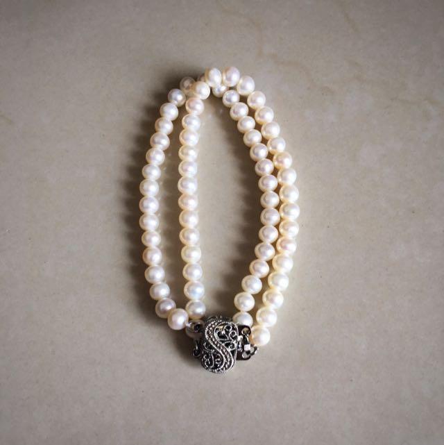 Cultured Fresh Water Pearls Bracelet