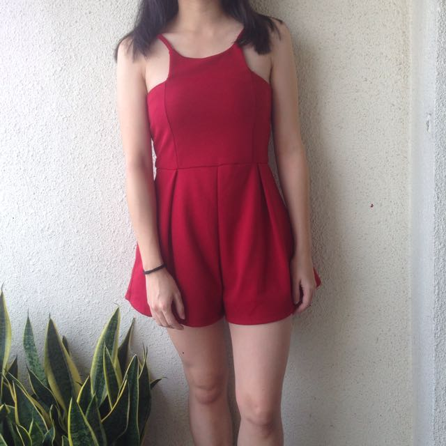 Cut In Romper