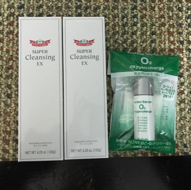 日本Dr.ci;labo 卸妝組1+1 $900