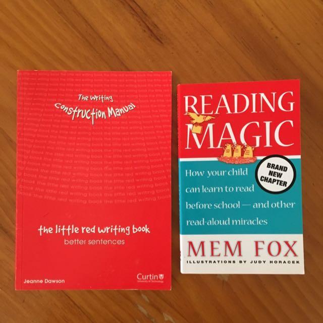 Education University Books Men Fox & The Writing Construction Manual