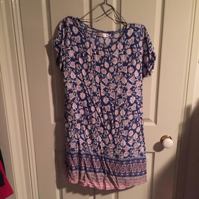 Flora Tshirt Dress