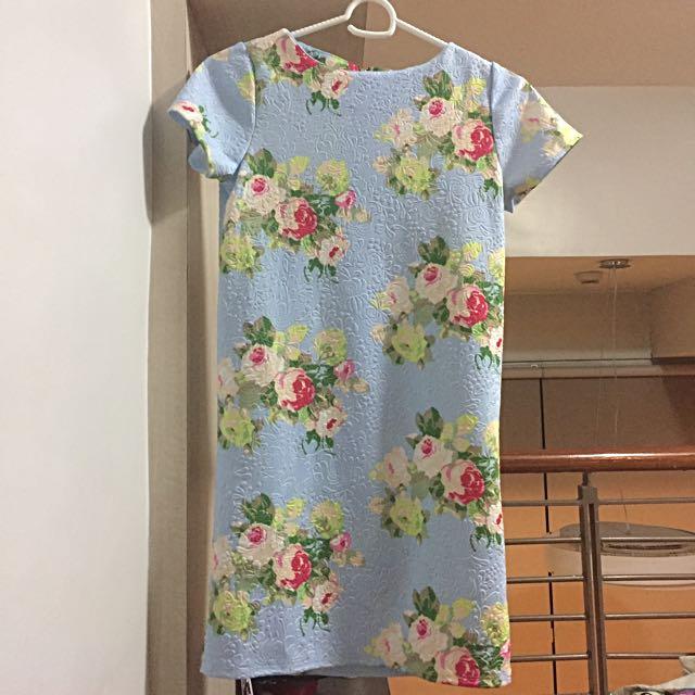 Floral Zipback Dress