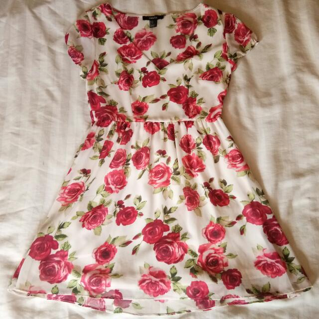 REPRICED! Forever21 Floral Dress
