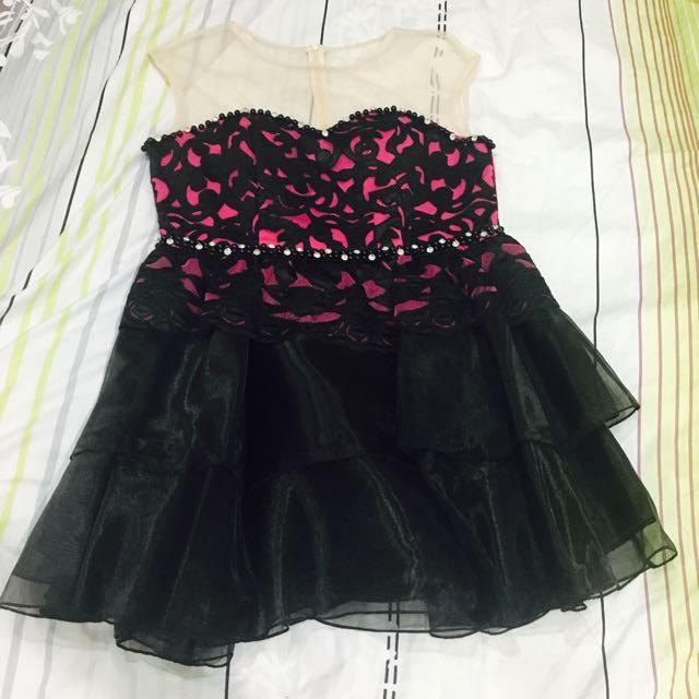 FUSCHIACOCKTAIL DRESS