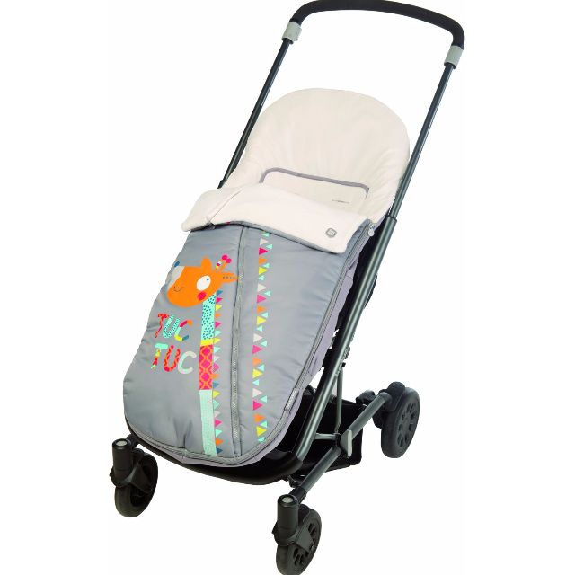 Giraffe Pram Liner - Winter Footmuff