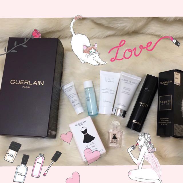 Guerlain 全新🕴🏻嬌蘭 珍珠柔光潤色 隔離乳 旅行組