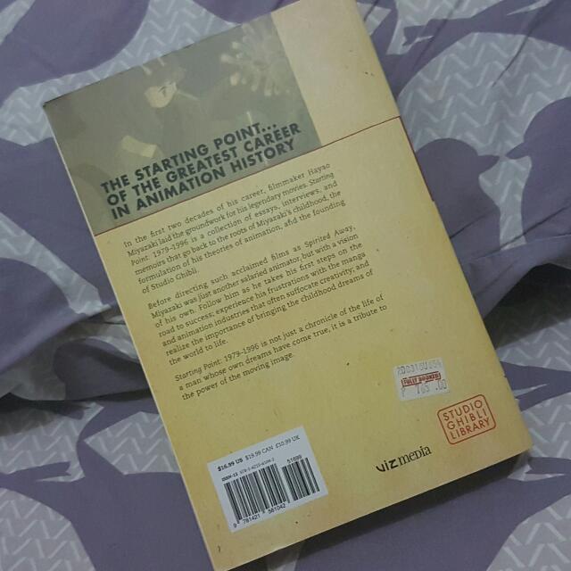 Hayao miyazaki starting point 1979 1996 books books on carousell fandeluxe Choice Image