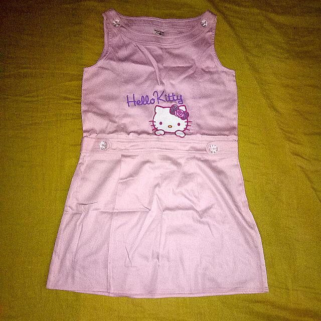 HELLO KITY DRESS FOR 11-12YRS OLD