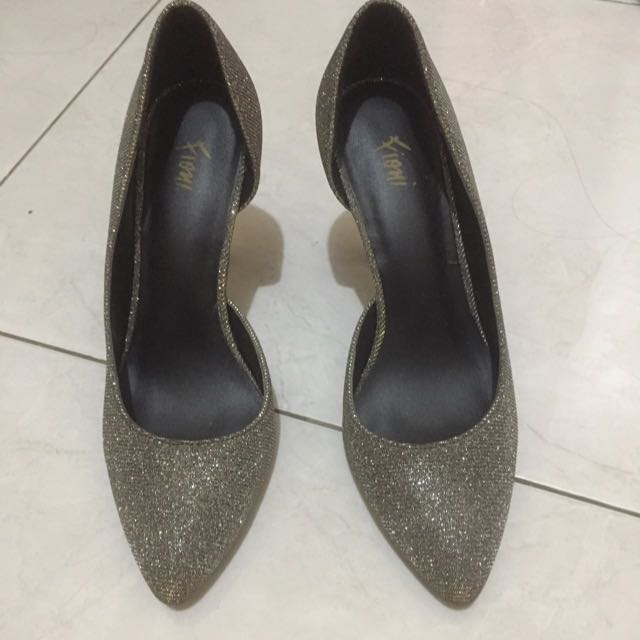 Highheels Silver Gold
