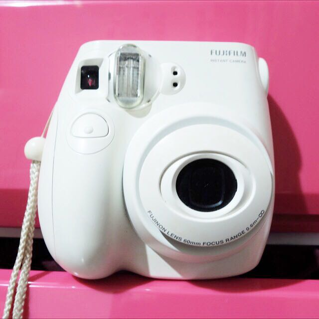 Instax Mini 7s White Polaroid