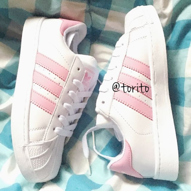 11c2314bbc8468  Summer40 INSTOCK Unisex Adidas Stan Smith Superstar Baby Pastel Pink Shoe