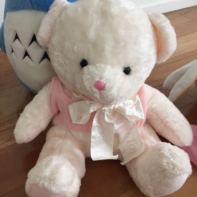 Large Pink Bear Soft Toy