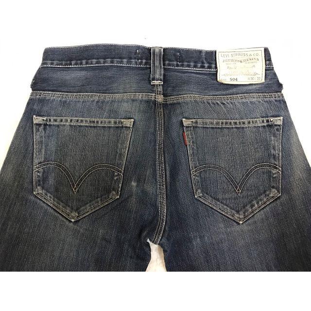 LEVI'S LEVIS EU504-0019 W30 L33 刷色合身小直筒牛仔褲 502 504 505 522