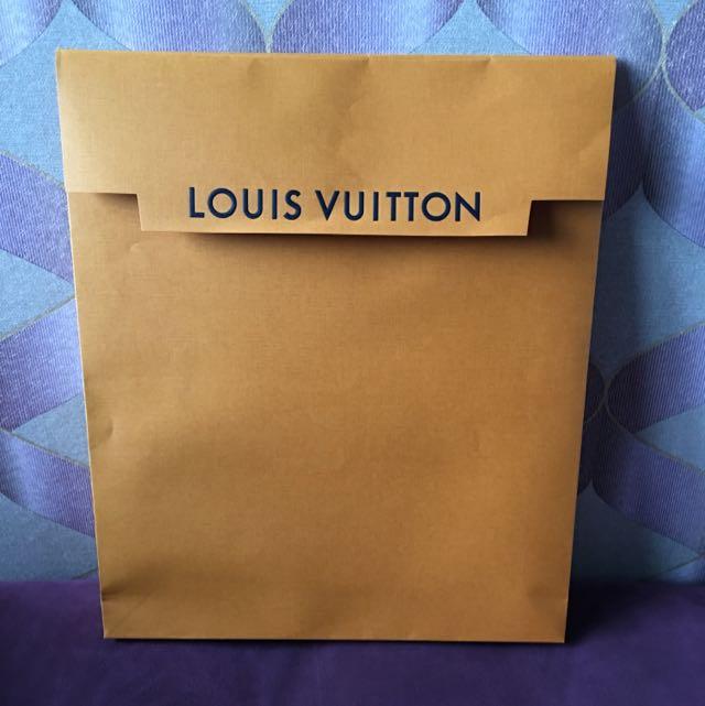 LV精品衣服紙袋
