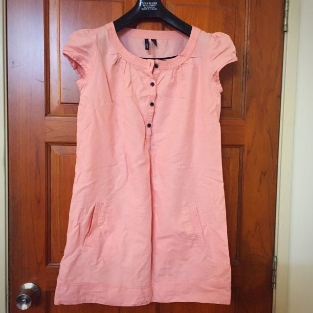 Mango Pink Colour Dress