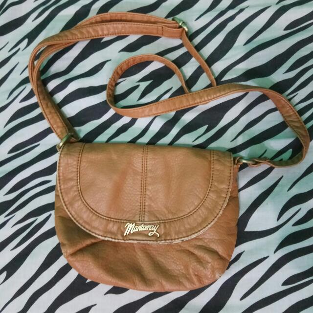 Mantaray Brown Sling Bag