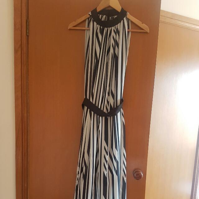 Maxi Stripe Dress Small