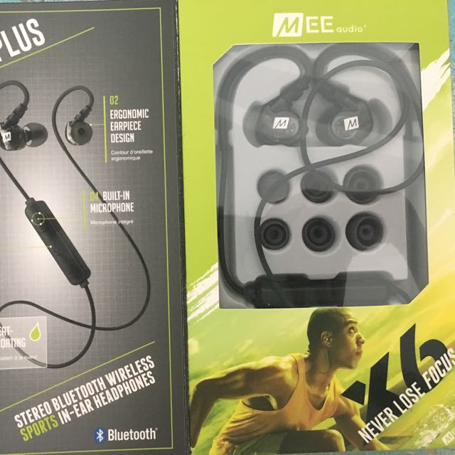 MEE Audio X6 Plus Bluetooth Wireless Earphones