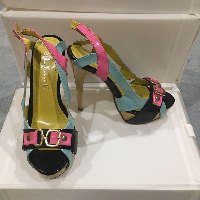 Multicoloured Italian Heels