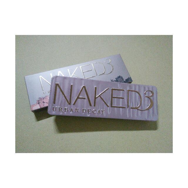 Naked 3 UD Eyeshadow Palette