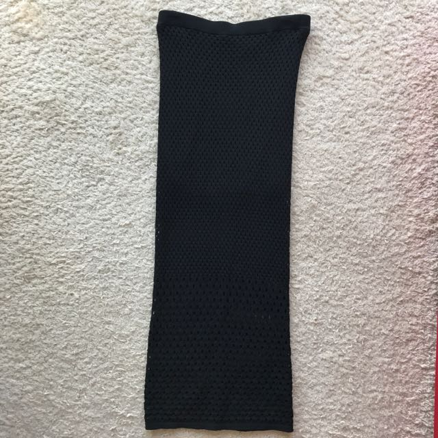 NEVER BEEN WORN At First Sight Knit Asilio Black Skirt