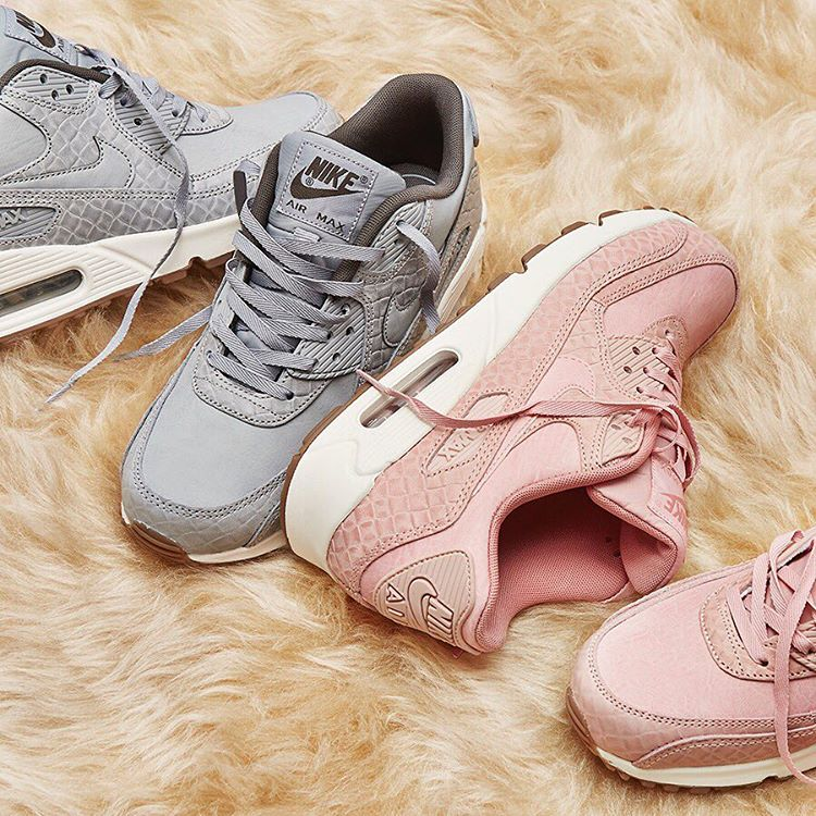 size 40 966a3 dc4bf Nike Air Max 90 Premium PaleSail Pink and Wolf Grey, Bulletin Board,  Preorders on Carousell