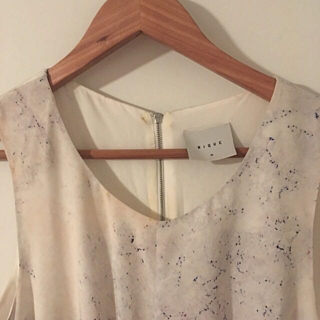 Nique Silk Dress Sz 10