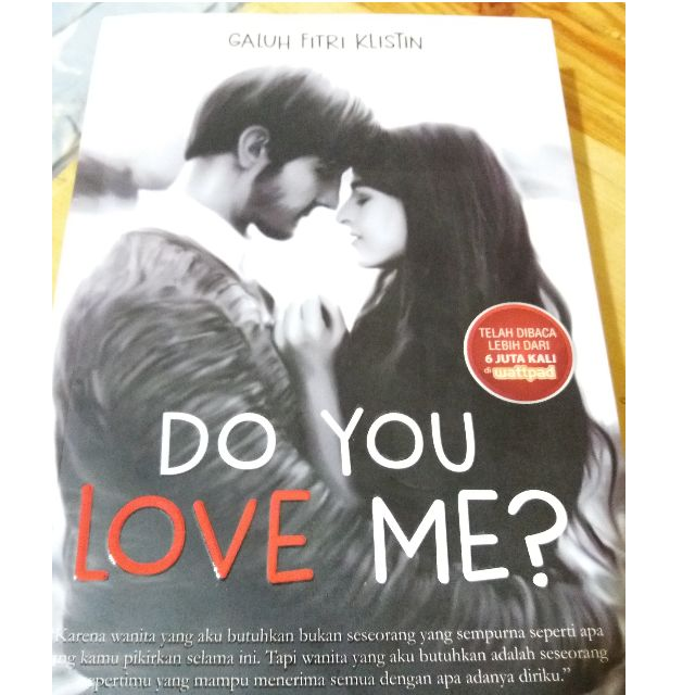 Novel Do You Love Me