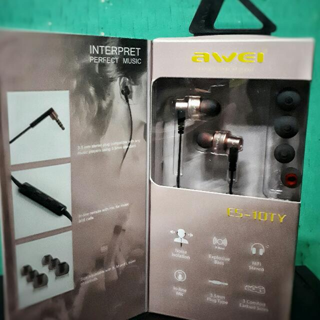 Original Awei Wired Headset