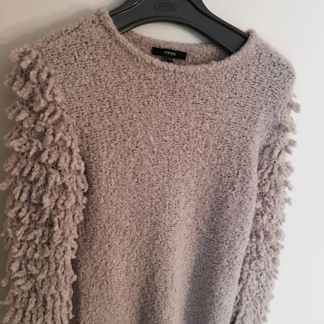Oversized Vintage Jumper By Piper