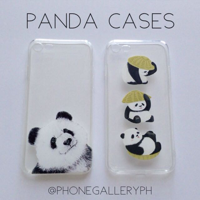 Panda Cases For iPhone 5 5s SE 6 6s 6+ 6s+ 7 7+