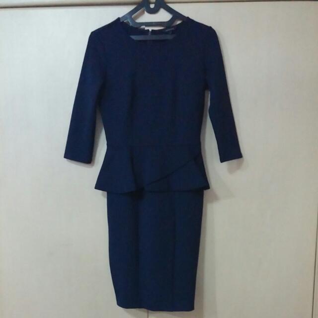 Peplum Elegant Dress The Executive