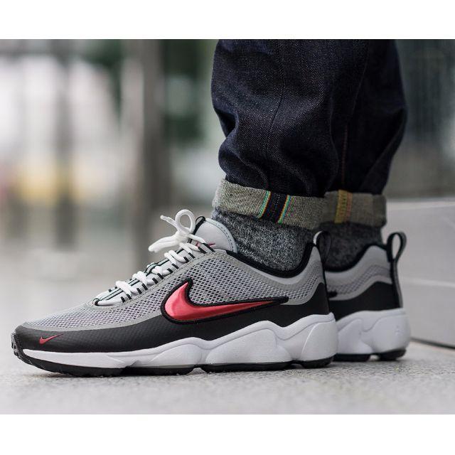 ca861eb96edb PO) Nike Air Zoom Spiridon Ultra 16 Silver Red
