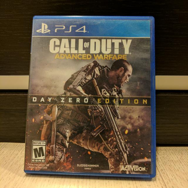 PS4 Call Of Duty Advanced Warfare: Day Zero Edition