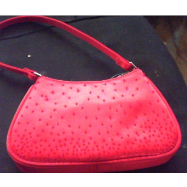 red mini bag by L:iz Clairborne