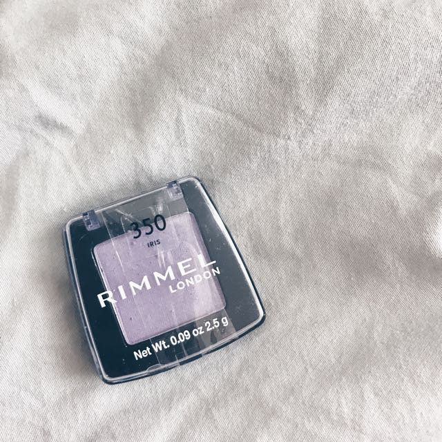 Rimmel Purple Eyeshadow